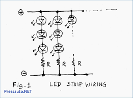 strip led sign wiring diagram strip get free image about