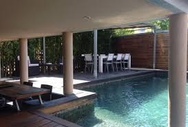 contemporary townhouse 3 bedroom holiday rental villa with pool in south of france
