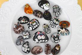 where your treasure is how to paint cats on rocks