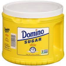domino domino pure cane granulated sugar 4 lb walmart com