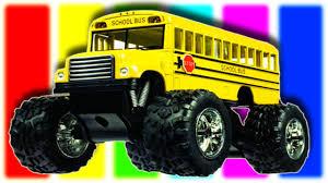 toy monster truck videos for kids monster truck bus for children monster car bus toy for kids