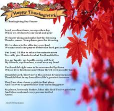 thanksgiving prayer 2012 faith and
