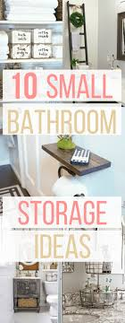 Unique Bathroom Storage Ideas 10 Small Bathroom Storage And Organization Ideas Hint Hacks