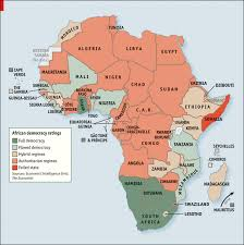 africa map by year busy ballot year for africa but democracy lags cipe