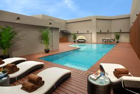 Lounge Chairs In Pool Design Ideas Swimming Pool Swimming Pool Deck Design Idea For Personal And