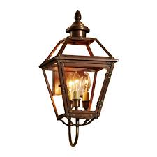 Antique Brass Outdoor Wall Lights by Shop Allen Roth New Vineyard 20 125 In H Antique Copper Outdoor