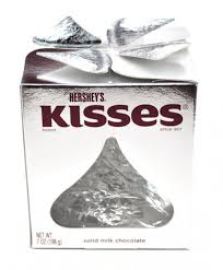 hershey s kisses 7 ounce gift box 1 unit favorites