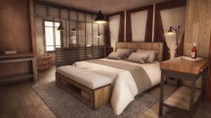 chambre d hotel de charme perspectives intérieures