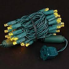wide angle yellow 50 bulb led lights sets 11