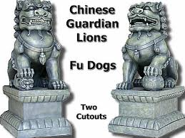 fu dogs second marketplace guardian lions fu dogs