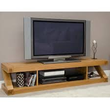 tv stand bright zee solid oak flat screen tv stand ideal home