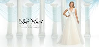 affordable bridal gowns wedding bridesmaid dresses davinci bridal collection