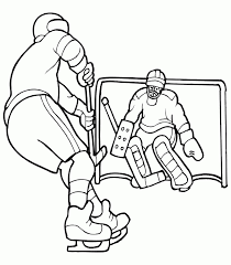 20 free printable hockey coloring pages everfreecoloring com