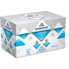 paper ream box pacific standard multipurpose paper 8 5 x 11 20 lb 92