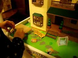 Calico Critters Play Table by Leah Presenting Front Yard Of Calico Critters Deluxe Village House
