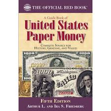 amazon com a guide book of united states paper money fifth