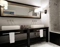 Bathroom Ideas White And Brown by Dark Brown Double Vanity Design Ideas