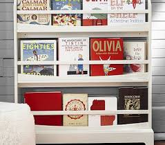 Wall Bookshelves For Nursery by Madison 3 Shelf Bookrack Simply White In Home Shelves
