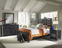 lawrence graphite 4pc youth bedroom set in graphite
