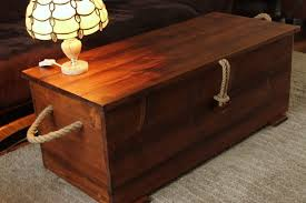 Rustic Chest Coffee Table Chest Coffee Table With Wheel Thippo