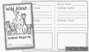 animal report template report animal report template 4th grade newsletter template