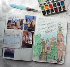 Travel Art images My travel art journal kit jpg