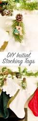 diy initial stocking tags sprinkle some fun