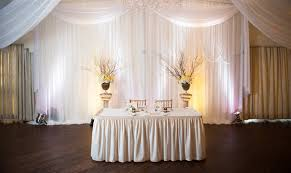 wedding draping w drapings custom event draping chiffon ceiling treatments and