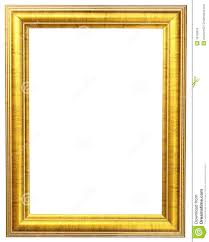 Photo Frame Gold Picture Frame Stock Photo Image 16123870