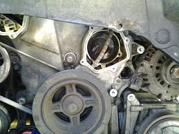 nissan maxima timing chain water pump ears broke upon removal maxima forums
