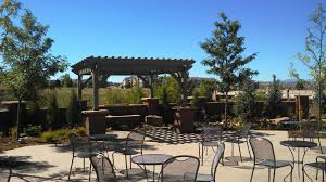 commercial outdoor shade structure timber frame pergola western