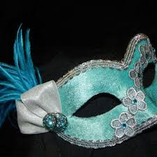 teal masquerade masks best turquoise masquerade mask products on wanelo