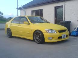 altezza car yellow altezza rms motoring forum
