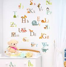 cherrycreek decals stickers classic animals alphabet baby nursery cherrycreek decals nursery stickers product