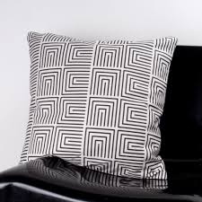 black patterned cushions decorative cushion ideas for your sofa and your bed