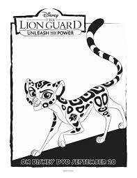 disney lion guard fuli coloring page disney pinterest lions