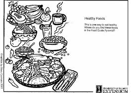 coloring page healthy foods img 5922