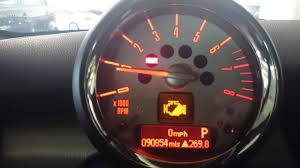 half engine power warning light 2008 r56 any ideas on what it