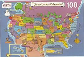us map puzzle usa map puzzle 100 pieces toys