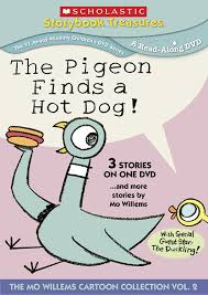 amazon com the pigeon finds a dog animation scholastic
