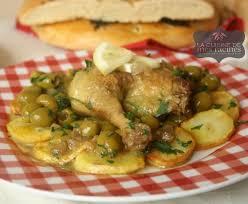 plat de cuisine poulet aux olives algerien la cuisine de mes racines