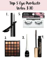 top 5 eye products under 20 my cancer chic