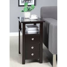 furniture amazing tall bedside tables design ideas slim arafen