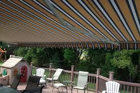 Deck Canopy Awning Deck Awnings Patio Shades And More Ace Home Improvements Of