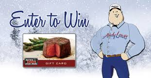 ruth s chris gift cards 100 ruth s chris gift card giveaway andy lewis heating air