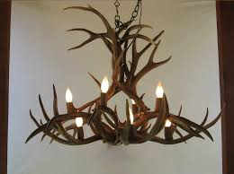 Antler Chandelier Canada L Deer Antler Chandelier Kit And Home Design Ideas With Wagon