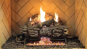100 ventless fireplace logs shop cedar ridge hearth 18 in