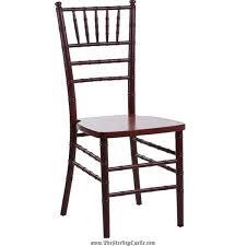 mahogany chiavari chair chair rental options for alabama s wedding venue the sterling castle