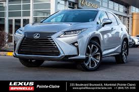 lexus rx blue 2017 2016 lexus rx 350 groupe luxe navigation inclus used for sale in