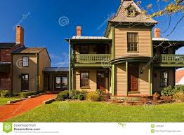 old victorian era house with addition stock photos image 1340463